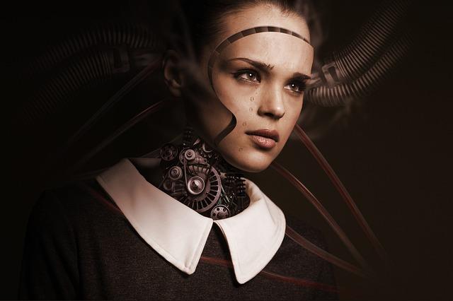 žena robot