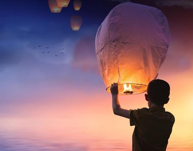 pouštění balonků
