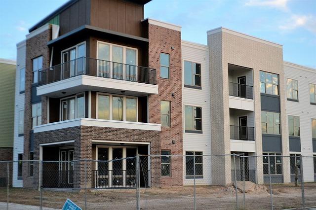 nové sídliště s byty