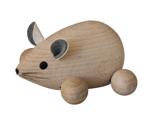 myš ze smrkového dřeva