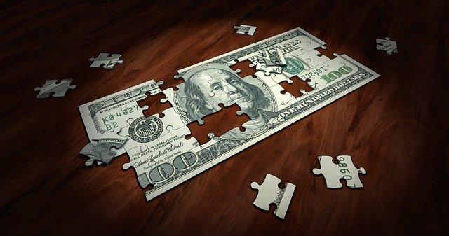 bankovka - puzzle