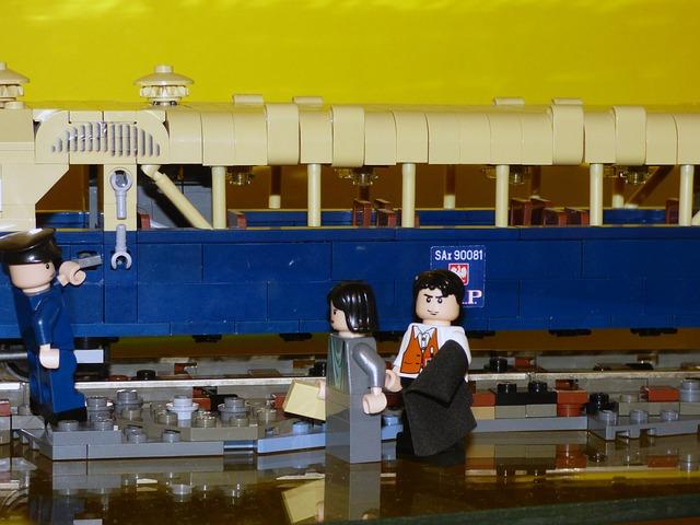 vlak z lega